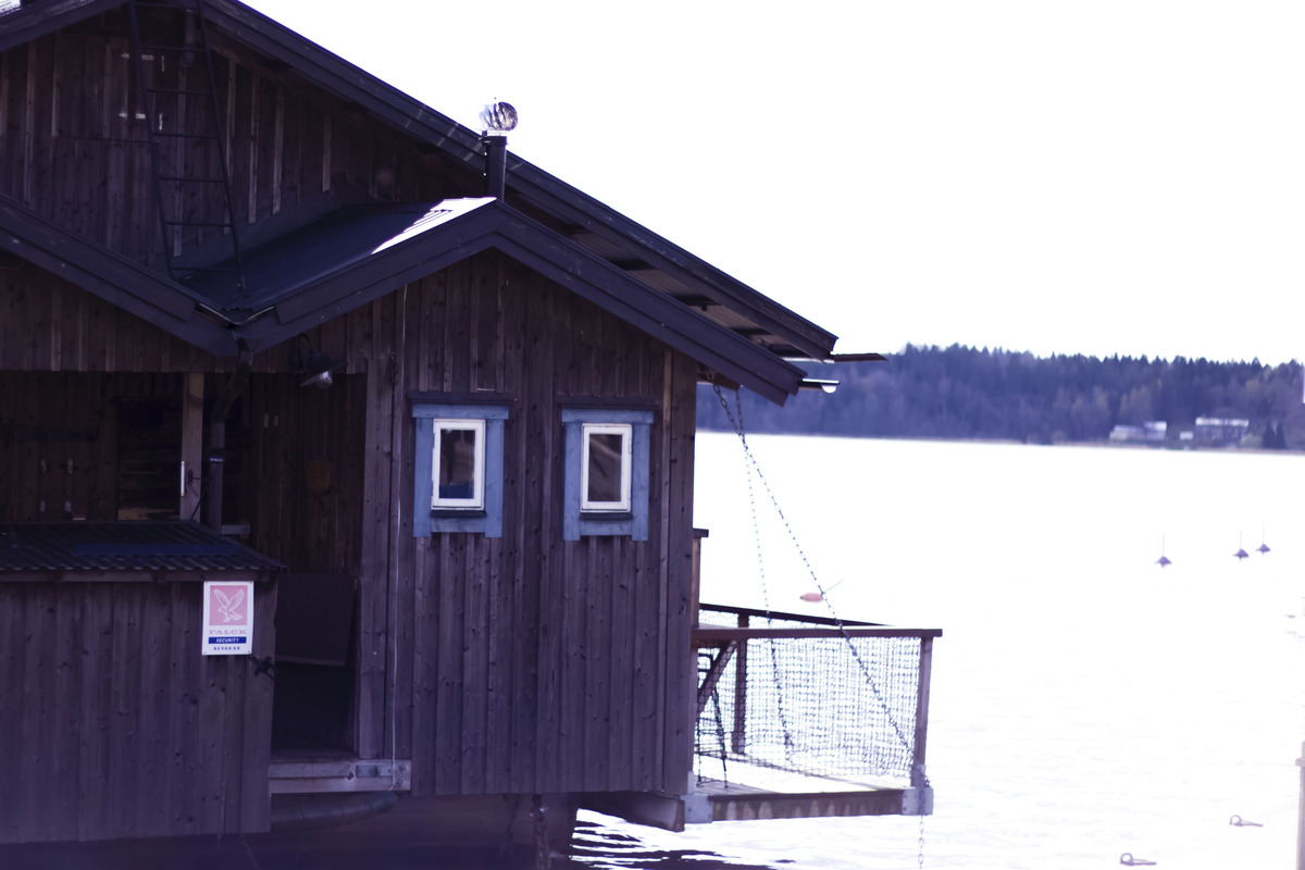 Little boathouse in Sigtuna