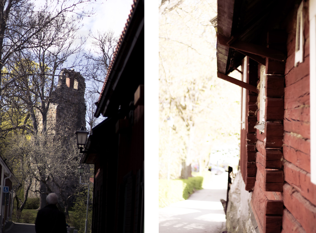 views of Sigtuna in the spring