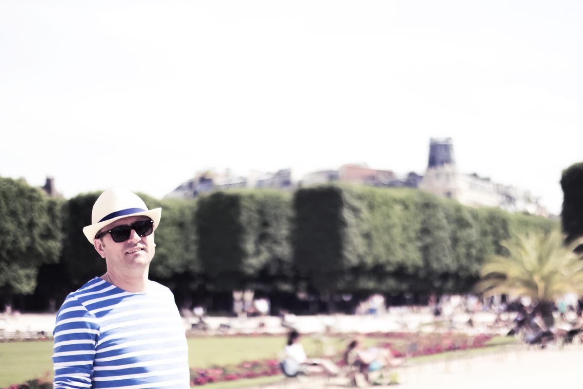 Ilir in Jardin du Luxembourgh